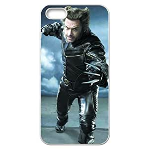 Wolverine Iphone 5 5s White Cell Phone Case Clear
