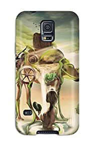Best 6681773K15482061 Protective Tpu Case With Fashion Design For Galaxy S5 (desert Dreams)