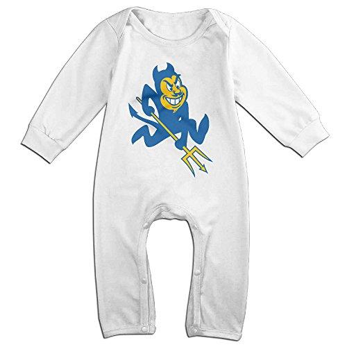 [Dadada Boy's & Girl's Duke University Blue Devils Long Sleeve Outfits 6 M] (Devil Girl Outfit)