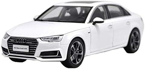 YN モデルカー 1:18 2017アウディA4カーモデルシミュレーション合金カーモデルデコレーションメタルコレクション ミニカー (Color : White)