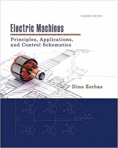 Electric Machines: Principles, Applications, and Control Schematics ...