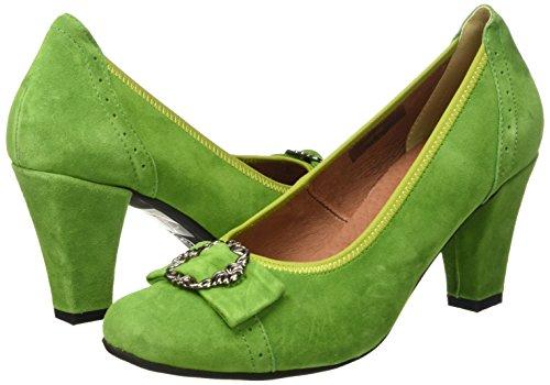 Donna 199 Caviglia Conti 3009226 grasgrün Verde Pompe Andrea wFzvZWqZ