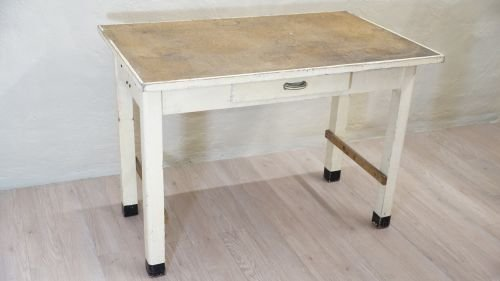 Coffee Table Buffettisch Vintage Esstisch Schublade 50er Jahre Sabby