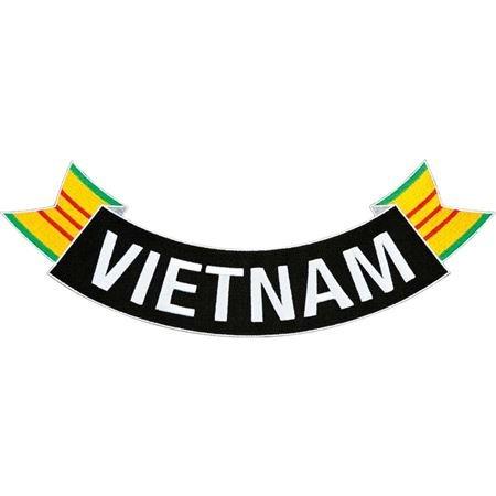 MilitaryBest Vietnam Ribbon Rocker Patch ()