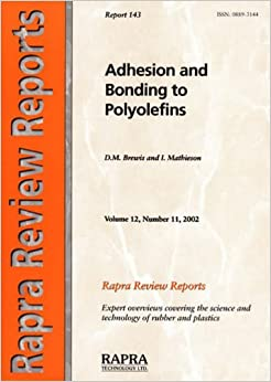 D. M. Brewis - Adhesion And Bonding To Polyolefins