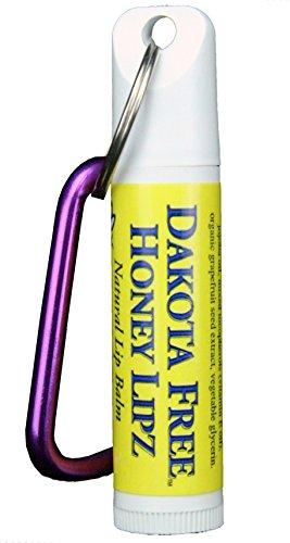 Dakota Free Honey Lipz Lip Balm .15 oz with belt clip