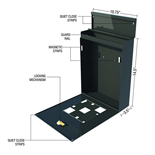 Buy mailbox vertical wall mount
