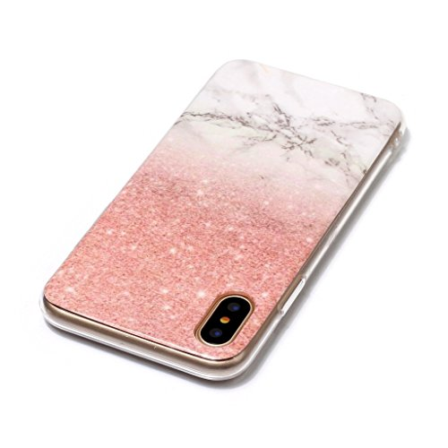 custodia morbida iphone x marmo