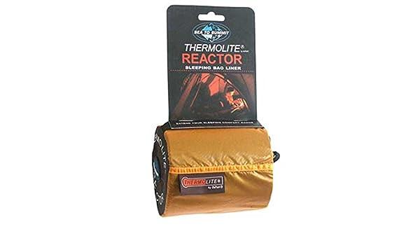 Sea to Summit Thermolite Reactor Mummy Sacos de dormir Long negro 2017
