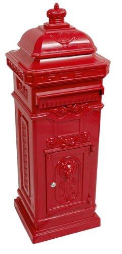 Casa Padrino Standbriefkasten Antik Jugendstil Mod6 Briefkasten