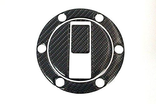 WildBee 3D Carbon Fuel Gas Cap Cover Pad Sticker Decal Fits for Aprilia Shiver 750 09-13, KTM 990 Super Duke, Triumph 07-14