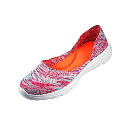 Enjoy Women's Lightweight Breathable Knitted Ballerinas Comfortable Slip on Stylish casusal Running Flat Ballet/Bellies…