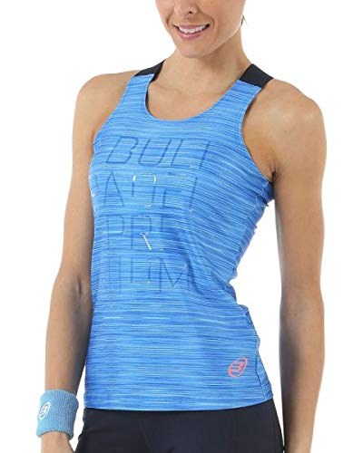 Bull padel Camiseta BULLPADEL VOSER Azul Mujer: Amazon.es ...