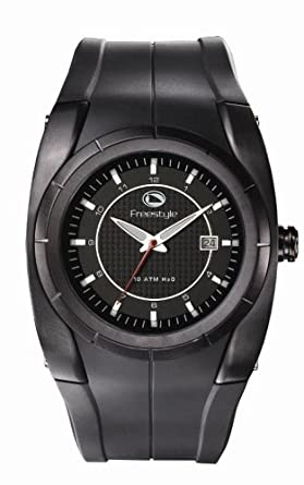 amazon com style men s fs40311 bishop polyurethane watch watches style men s fs40311 bishop polyurethane watch