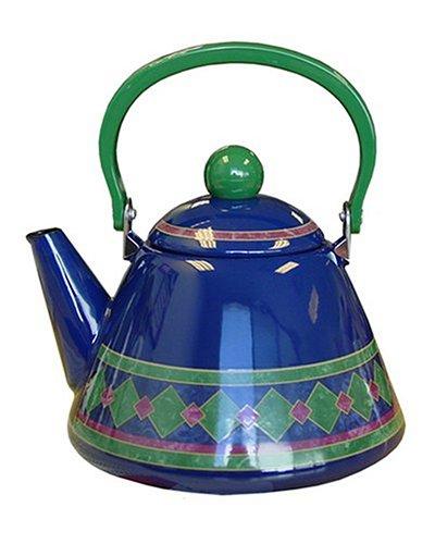 Pfaltzgraff Amalfi Classic 2-1/2-Quart Enamel on Steel Tea Kettle