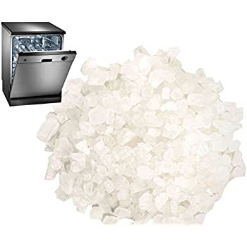 4.4 LB Dishwasher Salt / Water Softener Salt   Compatible With Bosch,  Miele, Whirlpool, Thermador And More (2 KG)