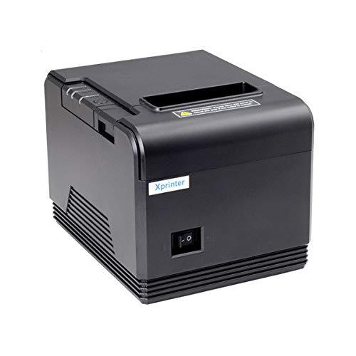 JEPOD XP-Q200 80mm USB+Serial/LAN Thermal Printer Auto Cutter Mini Thermal Receipt Printer xprinter Office pos (XP-Q200 USB+Serial) by Xprinter