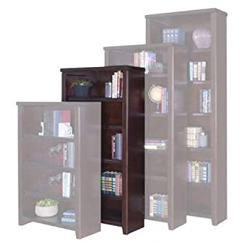 Martin Furniture Tribeca Loft Cherry 60 Bookcase – Fully Assembled