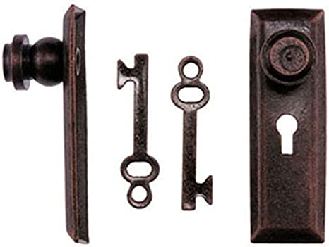 Classics Dollhouse Miniature Traditional Working Door Knocker in Oil Rubbed Bronze