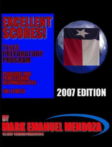 Texes Preparatory Manual Excellent Scores! Ppr Special Edition: Amazon.es: Mendoza, Mark Emanuel: Libros en idiomas extranjeros