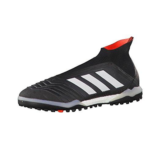 adidas Herren Predator Tango 18+ TF Fußballschuhe Schwarz (Cblack/Ftwwht/Solred)