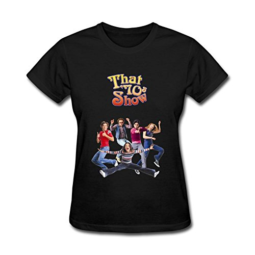 JuDian That 70s Show Season Eight Poster T shirt For Women (That 70s Show Season 6 compare prices)