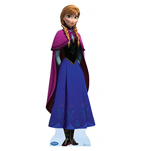 [Anna - Disney's Frozen - Advanced Graphics Life Size Cardboard Standup] (Anna Costume Ideas)