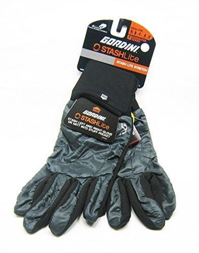 Gordini Stretch Gloves - Gordini Women's Stash Lite Stretch Gloves (Medium, Charcoal)