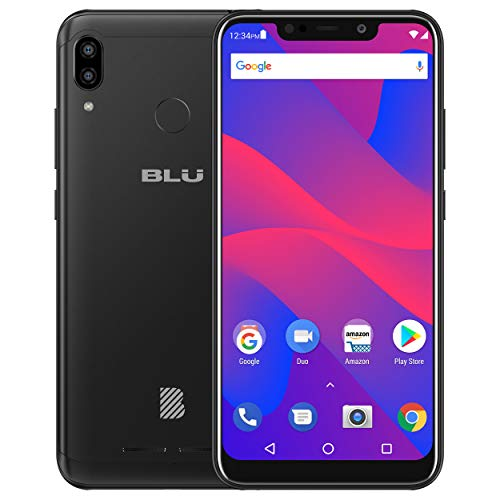 BLU Vivo XL4 6.2 HD Display Smartphone 32Gb+3Gb RAM, Black
