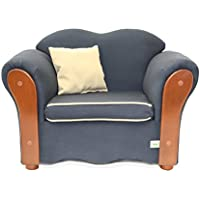 KEET Homey VIP Organic Kids Chair, Navy Blue