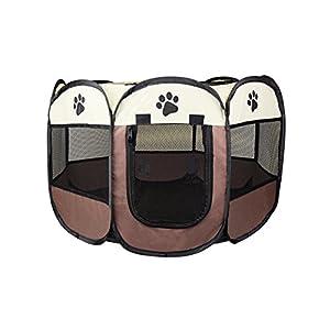 Cosy Life® Parque para perros – Recinto de Juego Entrenamiento Dormitorio para mascotas