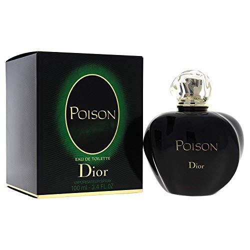 Ćhristían Díor Poison Eau De Toilette Spray For Women 3.4 Fl. OZ./100 ml