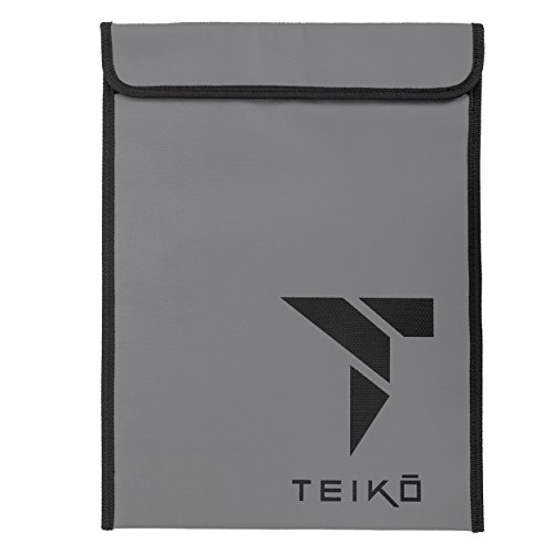 "Fireproof Money & Document Bag by Teiko (15""x11"") 