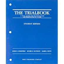 The Trialbook, Student Edition
