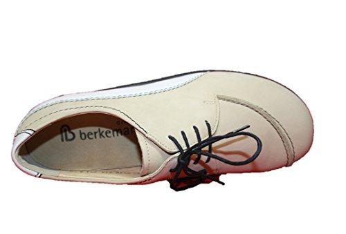 Sable Blanc Chaussures Pour Elena 05110 couleur Femmes Basses Beige 738 Berkemann qwHZ17x8