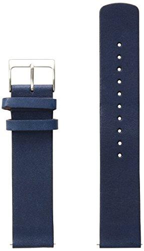 Skagen SKB6056 20mm Leather Calfskin Blue Watch Strap (Watch Skagen Bands Replacement)