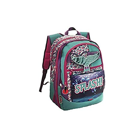 a basso prezzo b0f5d 24ca1 Giochi Preziosi Gopop 19 Zaino Estensibile Sirena Sacca, 43 cm, Multicolore