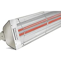 Infratech 61-1/4 Inch Wd Series All-weather Stainless Steel Heater - 6000 Watts - Radiant Heat - Energy Efficient