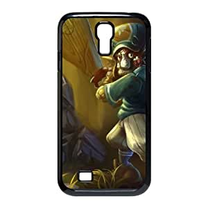 Samsung Galaxy S4 9500 Cell Phone Case Black League of Legends Lil' Slugger Trundle PD5407913