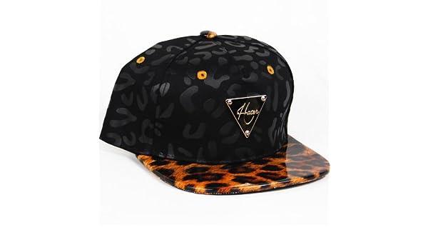 Hater Vinyl Leopard Snapback Hat - Gorra para niño: Amazon.es ...