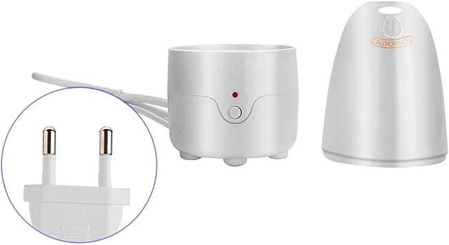 Esterilizador de vapor de copa menstrual portátil para silicona Copa menstrual Viaje Copa menstrual Desinfección Vapor Desinfección rápida(UE)