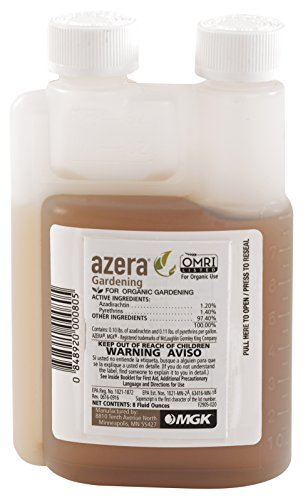 Azera Gardening 8 oz, Botanical Dual Action Azadirachtin/...