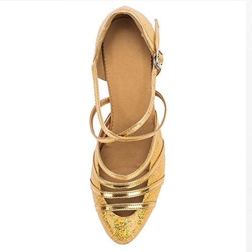 HW180507 Gold 8cm Femme de Danse Heel Miyoopark MiyooparkUK Salon 5YCqx7CUw