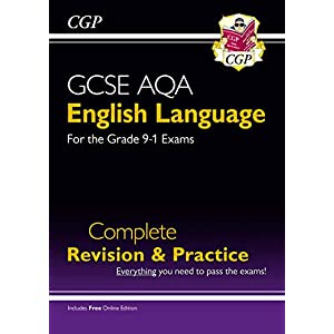 GCSE English Language AQA Complete Revision & Practice – Grade 9-1 Course (with Online Edition): perfect for home…