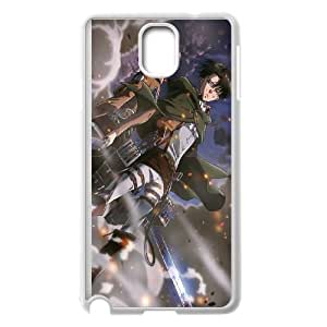 Attack On Titan Samsung Galaxy Note 3 Cell Phone Case White hri ujkm