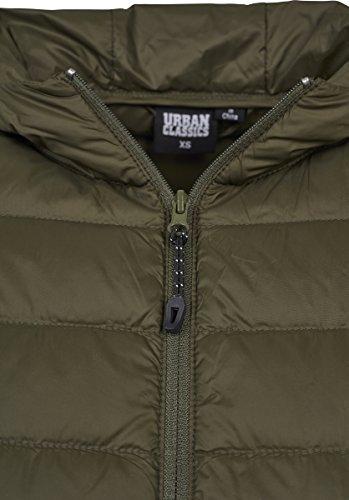 darkolive Hooded 00551 Donna Urban Basic Cappotto Ladies Classics Verde Jacket HRT8qfSw