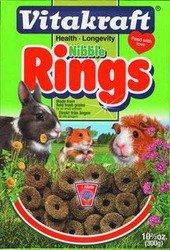 Vitakraft Nibble Rings for Small Animals 11 oz