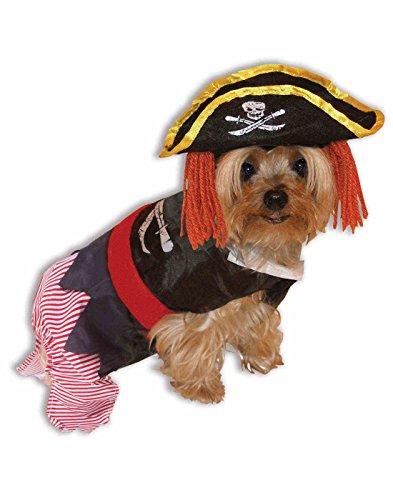 Forum Novelties 64043 Pirate Pet (Promo) Costume, - Halloween Pet Costume Pirate