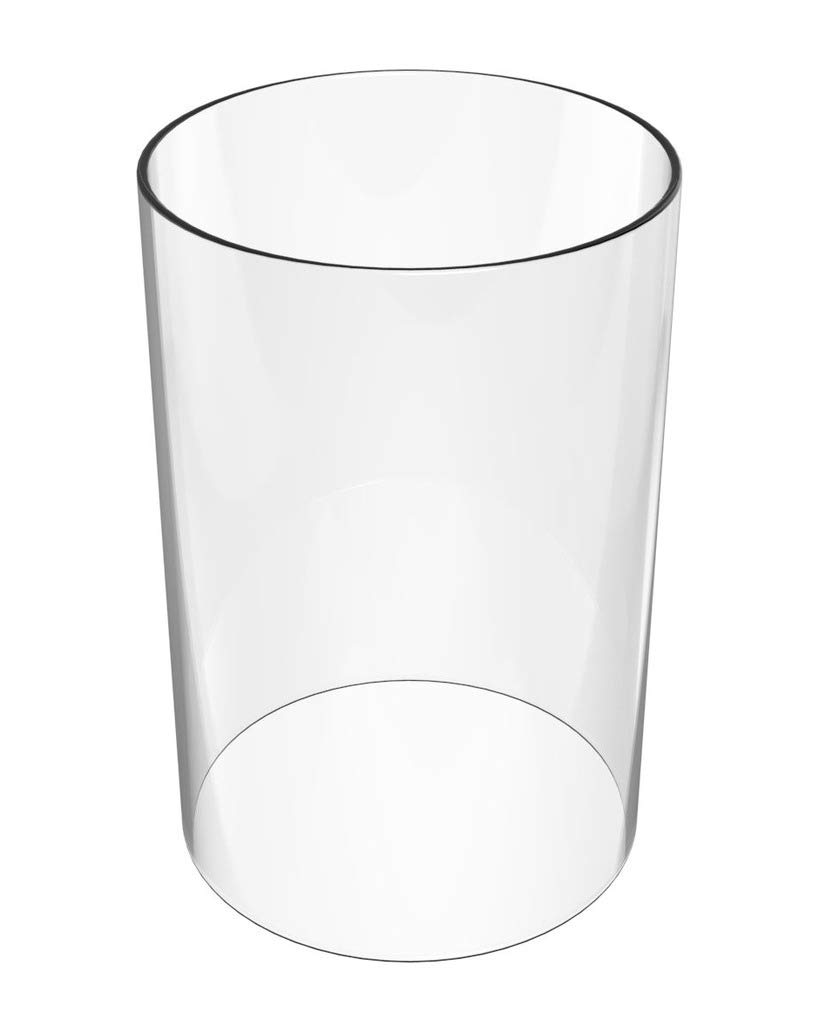Amayan Cylinder Flameless Candle Sconces Height 12'' Diameter 3.5'' -Perfect for MULTIFARIOUS Wall LAMP SCONCES Tall Cylinder Glass Vase-(Multiple Specifications) by Amayan (Image #1)