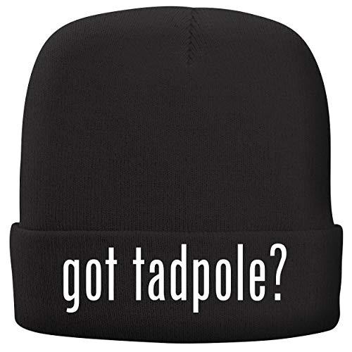 got Tadpole? - Adult Comfortable Fleece Lined Beanie, Black